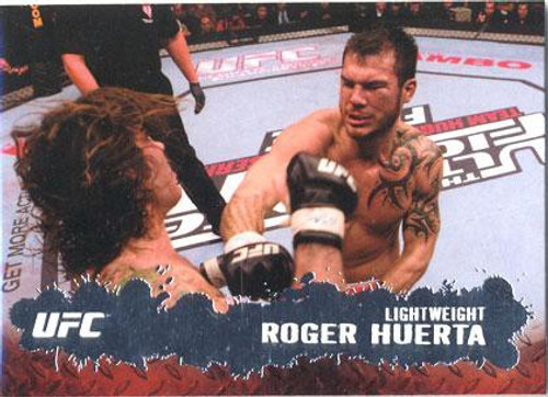 Topps UFC 2009 Round 2 Fighter Roger Huerta #6