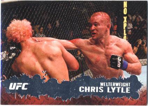 Topps UFC 2009 Round 2 Fighter Chris Lytle #7