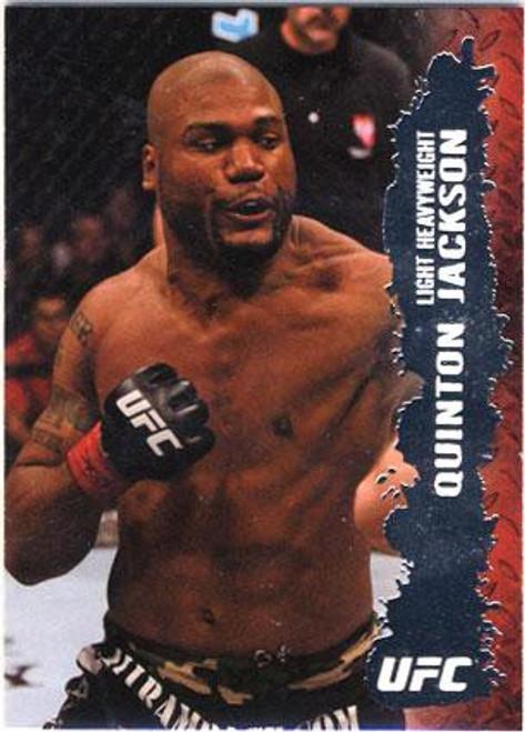 Topps UFC 2009 Round 2 Fighter Quinton Jackson #99