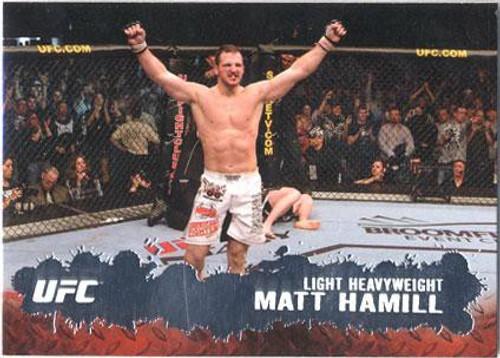 Topps UFC 2009 Round 2 Fighter Matt Hamill #8