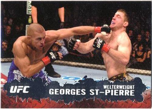 Topps UFC 2009 Round 2 Fighter Georges St Pierre #100