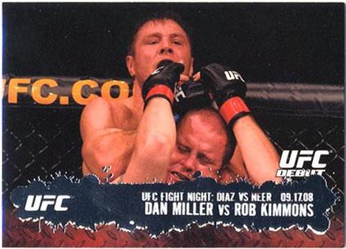 Topps UFC 2009 Round 2 Fighter Dan Miller #102