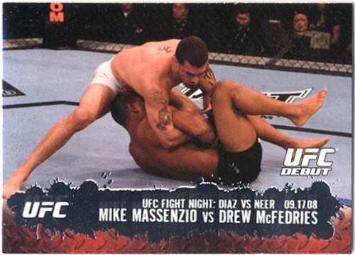Topps UFC 2009 Round 2 Fighter Mike Massenzio #103