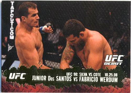Topps UFC 2009 Round 2 Fighter Junior Dos Santos #108