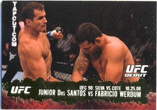 Topps UFC 2009 Round 2 Fighter Junior Dos Santos #108