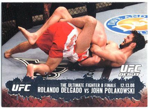 Topps UFC 2009 Round 2 Fighter Rolando Delgado #111