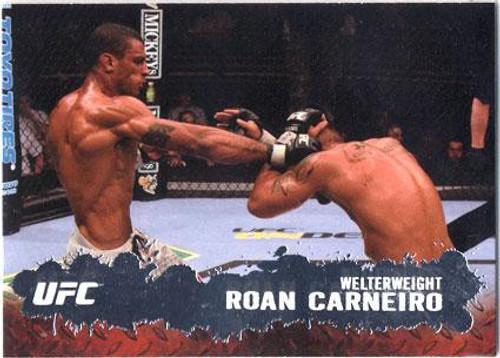 Topps UFC 2009 Round 2 Fighter Roan Carneiro #17