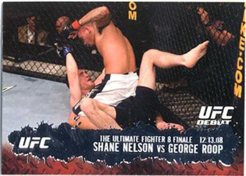 Topps UFC 2009 Round 2 Fighter Shane Nelson #112