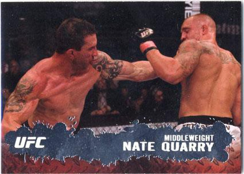 Topps UFC 2009 Round 2 Fighter Nate Quarry #20