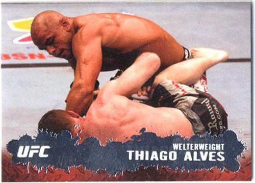 Topps UFC 2009 Round 2 Fighter Thiago Alves #22