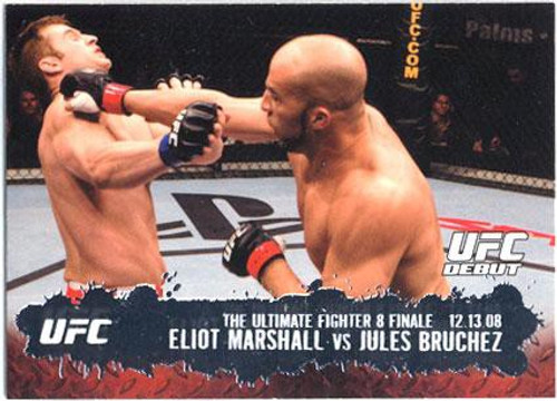 Topps UFC 2009 Round 2 Fighter Eliot Marshall #114