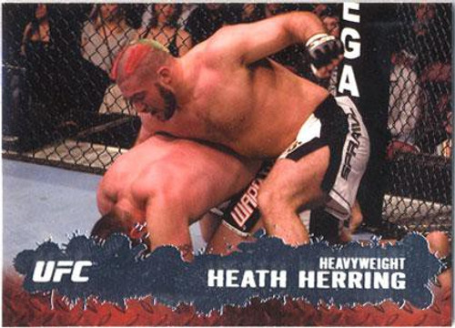 Topps UFC 2009 Round 2 Fighter Heath Herring #26