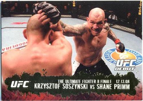 Topps UFC 2009 Round 2 Fighter Krzysztof Soszynski #115