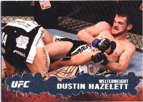 Topps UFC 2009 Round 2 Fighter Dustin Hazelett #28
