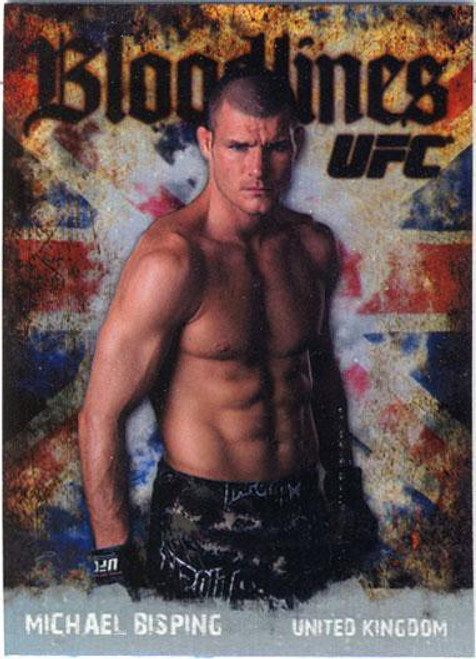 Topps UFC 2009 Round 2 Bloodlines Michael Bisping BL-1