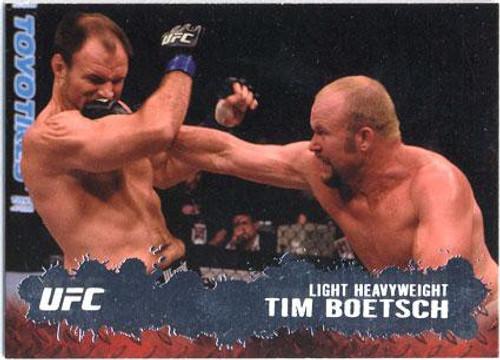 Topps UFC 2009 Round 2 Fighter Tim Boetsch #30