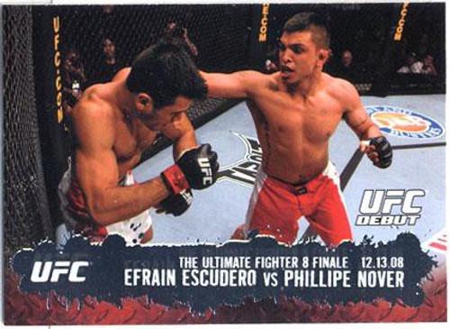 Topps UFC 2009 Round 2 Fighter Efrain Escudero #117