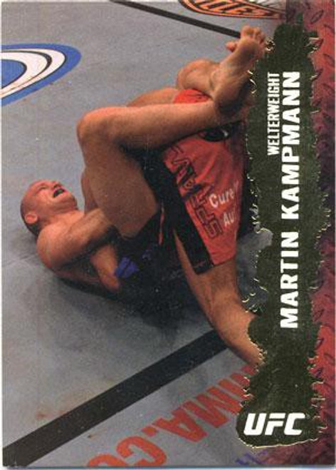 Topps UFC 2009 Round 2 Fighter Martin Kampmann #32