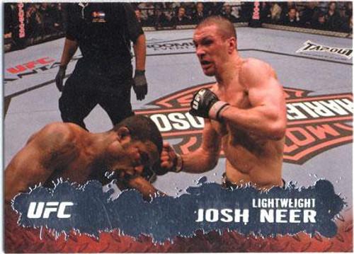Topps UFC 2009 Round 2 Fighter Josh Neer #35