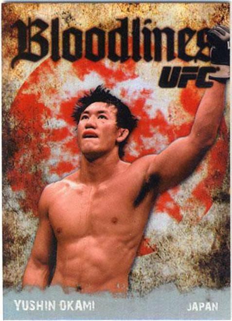 Topps UFC 2009 Round 2 Bloodlines Yushin Okami BL-4