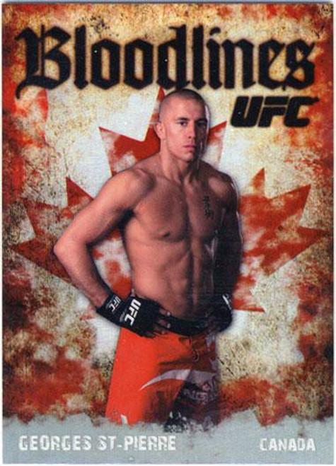 Topps UFC 2009 Round 2 Bloodlines Georges St Pierre BL-5