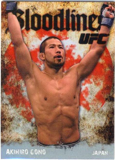Topps UFC 2009 Round 2 Bloodlines Akihiro Gono BL-7