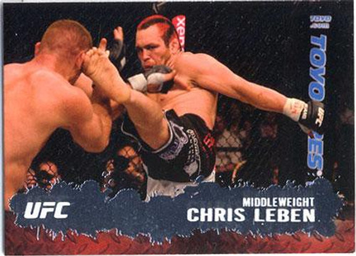 Topps UFC 2009 Round 2 Fighter Chris Leben #38