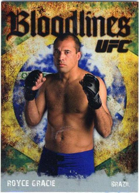 Topps UFC 2009 Round 2 Bloodlines Royce Gracie BL-8