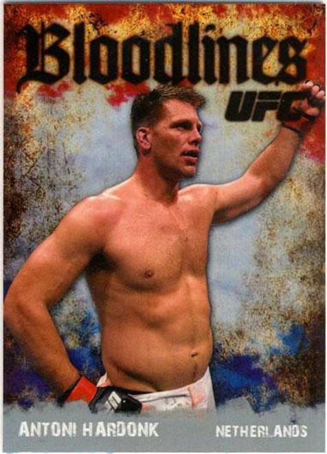 Topps UFC 2009 Round 2 Bloodlines Antoni Hardonk BL-9