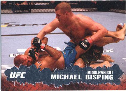 Topps UFC 2009 Round 2 Fighter Michael Bisping #43