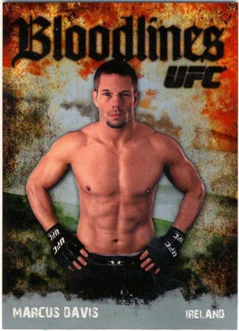 Topps UFC 2009 Round 2 Bloodlines Marcus Davis BL-10