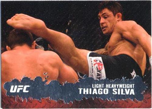 Topps UFC 2009 Round 2 Fighter Thiago Silva #48
