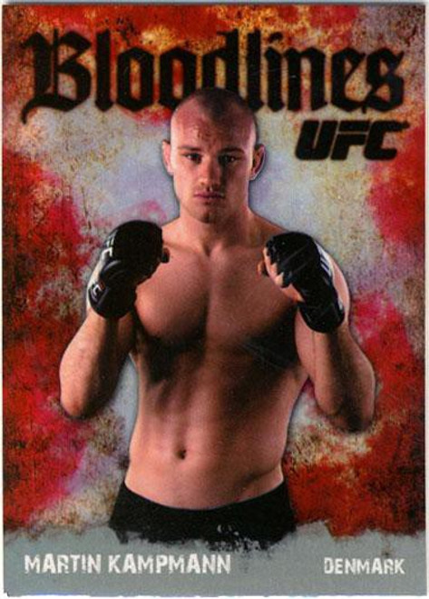 Topps UFC 2009 Round 2 Bloodlines Martin Kampmann BL-11