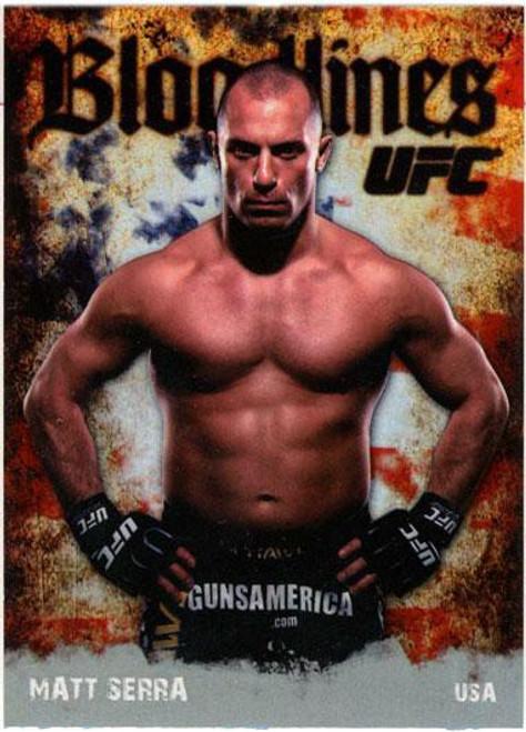 Topps UFC 2009 Round 2 Bloodlines Matt Serra BL-13