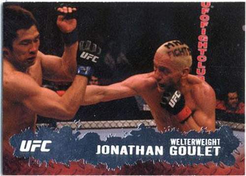 Topps UFC 2009 Round 2 Fighter Jonathan Goulet #49