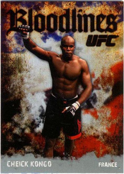 Topps UFC 2009 Round 2 Bloodlines Cheick Kongo BL-12
