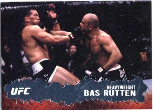 Topps UFC 2009 Round 2 Fighter Bas Rutten #51