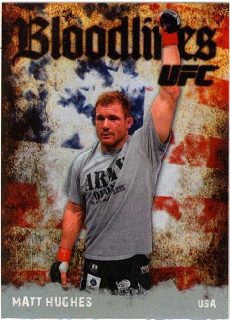Topps UFC 2009 Round 2 Bloodlines Matt Hughes BL-14