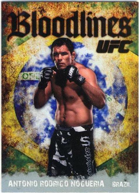 Topps UFC 2009 Round 2 Bloodlines Antonio Rodrigo Nogueira BL-15