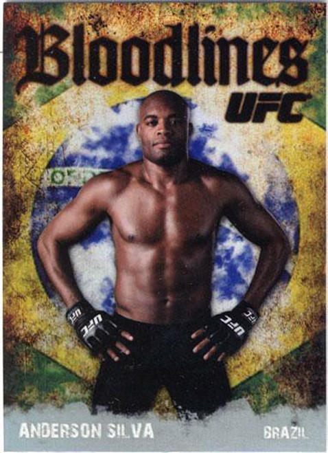 Topps UFC 2009 Round 2 Bloodlines Anderson Silva BL-16