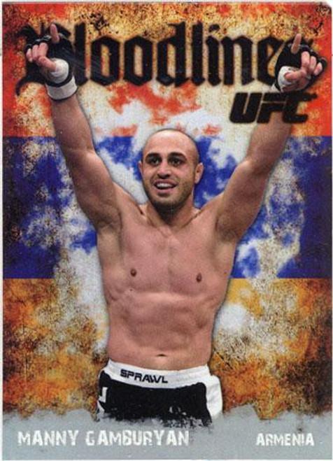 Topps UFC 2009 Round 2 Bloodlines Manny Gamburyan BL-18