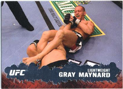 Topps UFC 2009 Round 2 Fighter Gray Maynard #57