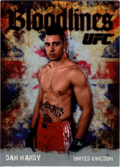 Topps UFC 2009 Round 2 Bloodlines Dan Hardy BL-19