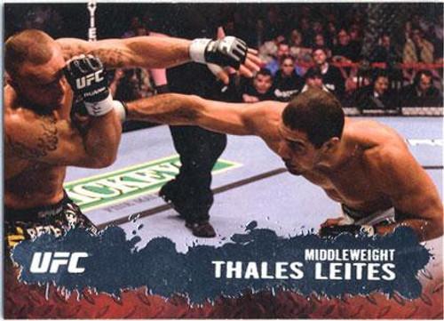 Topps UFC 2009 Round 2 Fighter Thales Leites #63
