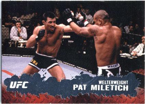Topps UFC 2009 Round 2 Fighter Pat Miletich #68