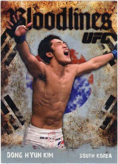 Topps UFC 2009 Round 2 Bloodlines Dong Hyun Kim BL-20
