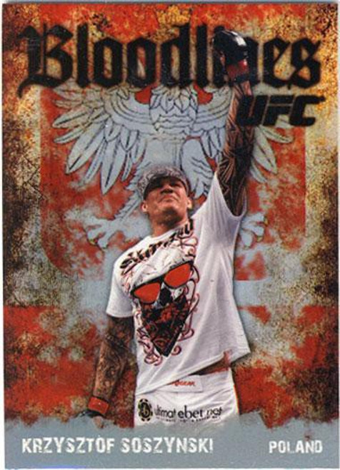 Topps UFC 2009 Round 2 Bloodlines Krzysztof Soszynski BL-22