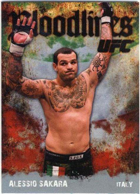 Topps UFC 2009 Round 2 Bloodlines Alessio Sakara BL-21