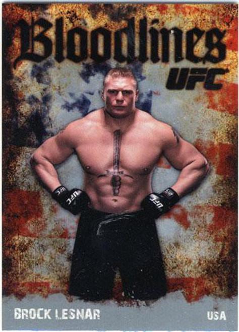 Topps UFC 2009 Round 2 Bloodlines Brock Lesnar BL-23