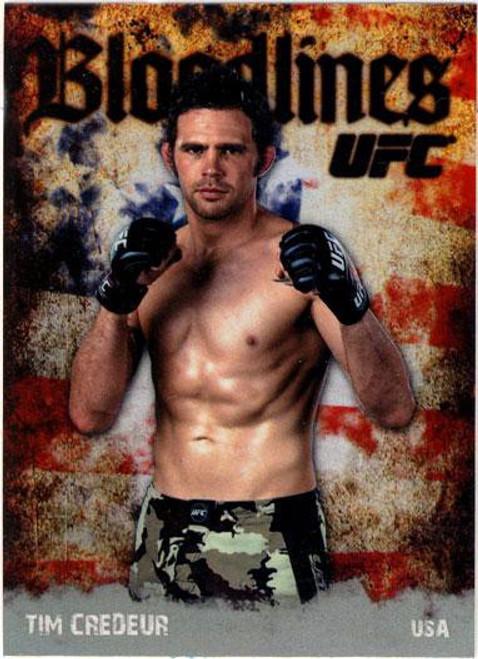 Topps UFC 2009 Round 2 Bloodlines Tim Credeur BL-25